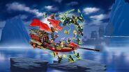 Lego Ninjago Final Flight of Destiny's Bounty 4