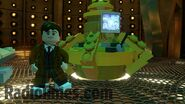 Lego David Tennant's Tardis