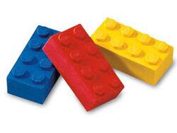 922213-Eraser, LEGO Brick Eraser Set