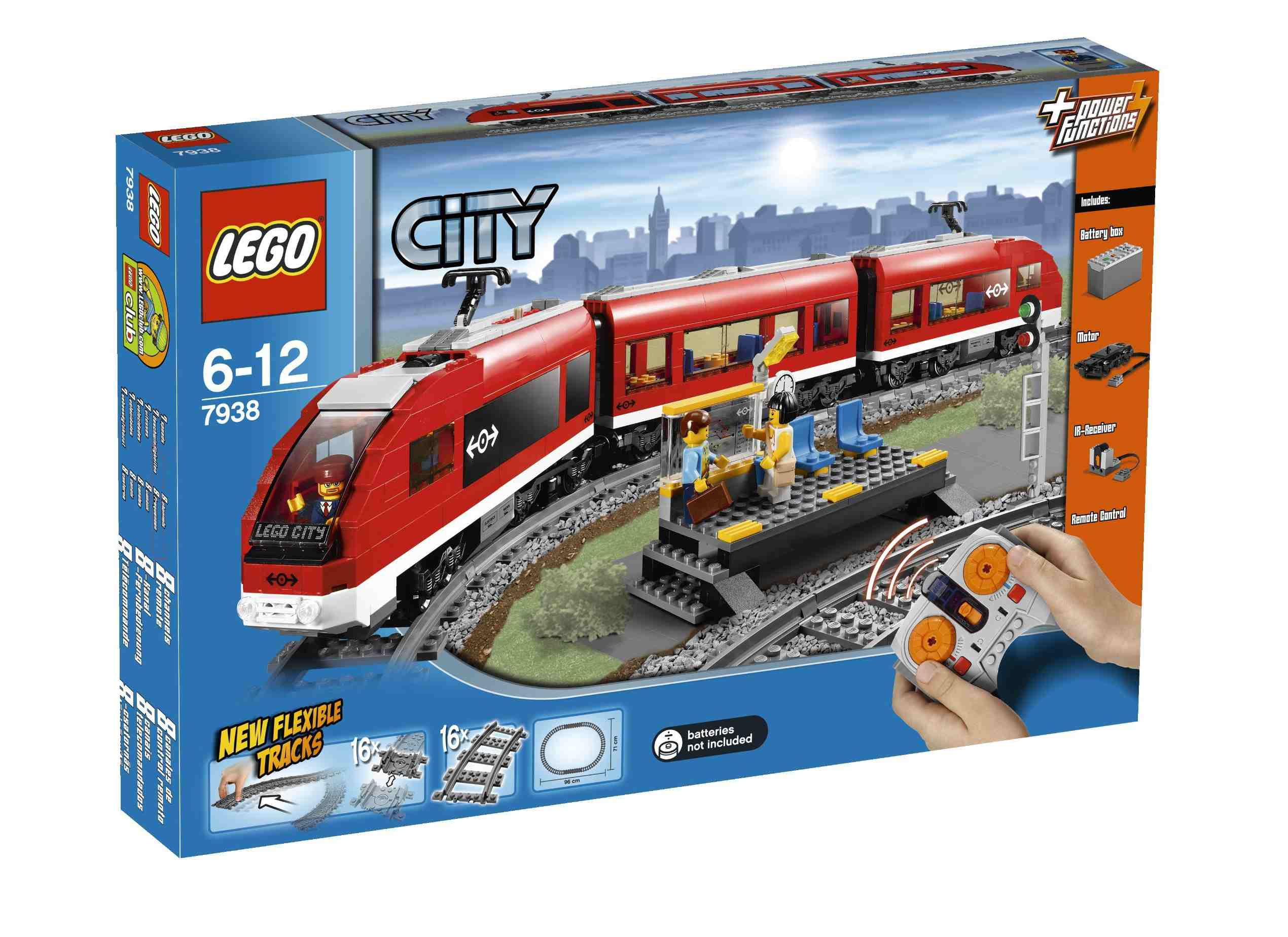 Lego City Passenger Train 7938 Passenger Train