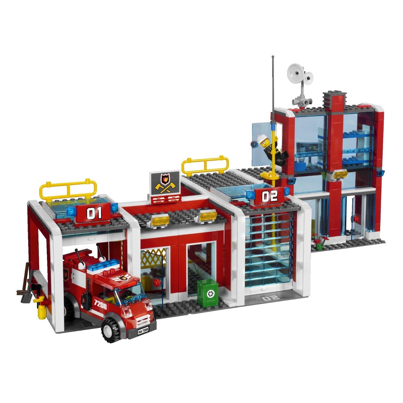 fichier 7208 la caserne des pompiers wiki lego. Black Bedroom Furniture Sets. Home Design Ideas