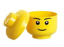 40321732 Minifig Head Storage Container Large - Male