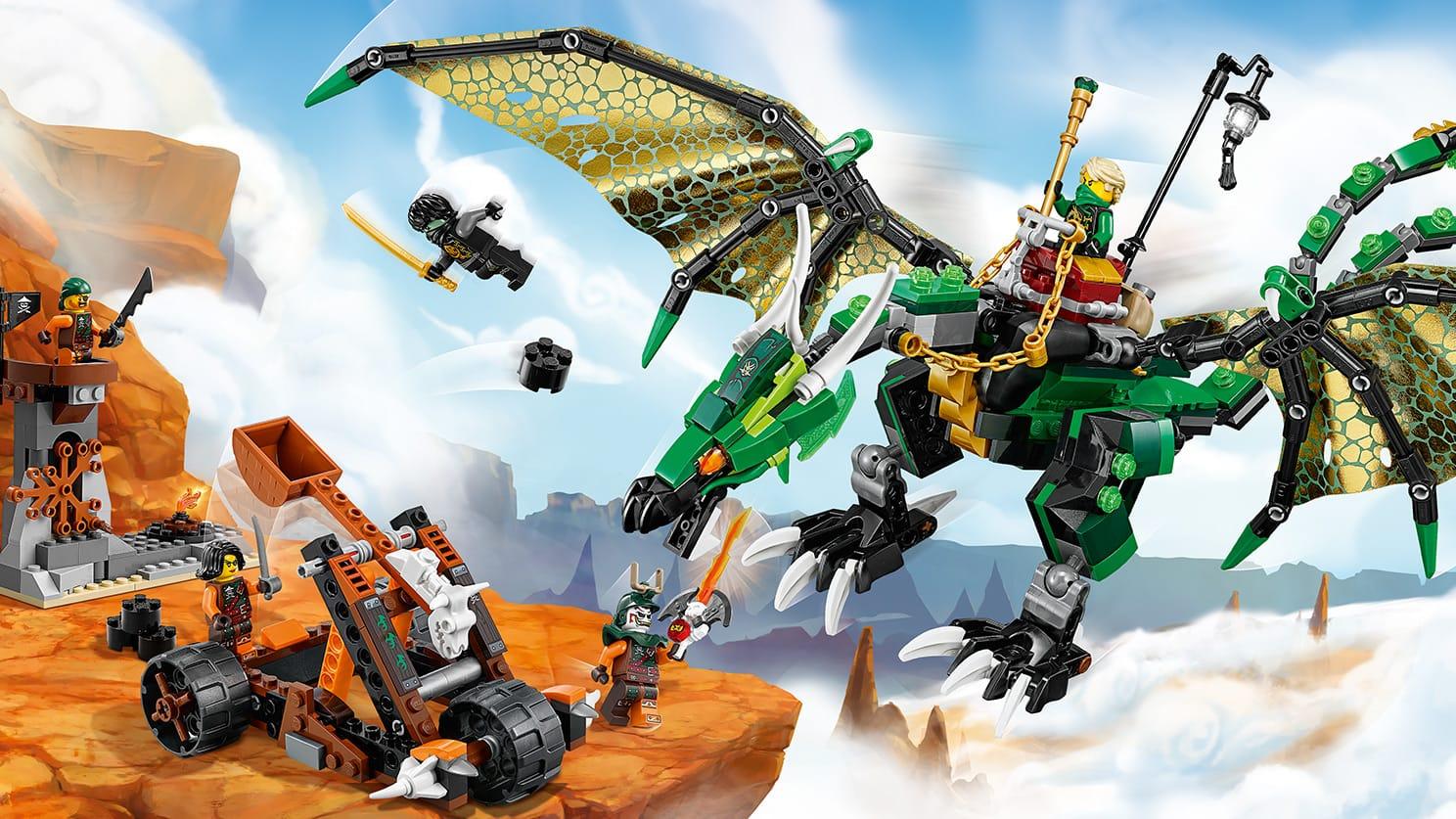 70593 Le Dragon 233 Meraude De Lloyd Wiki Lego Fandom
