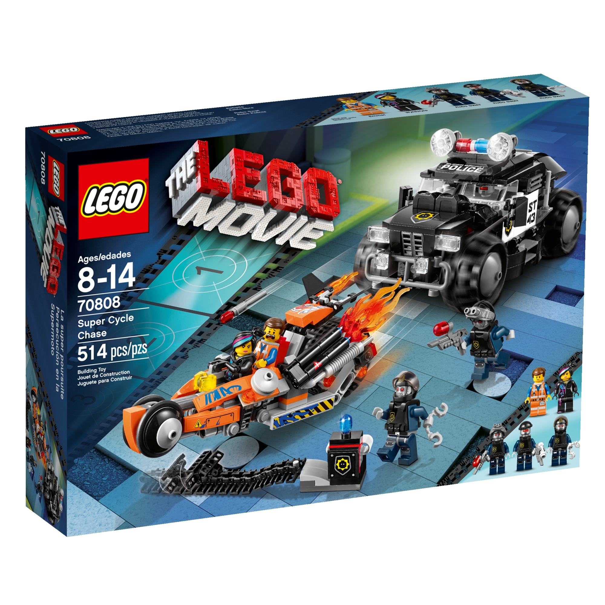 Lego Movie Toys : Super cycle chase brickipedia fandom powered by