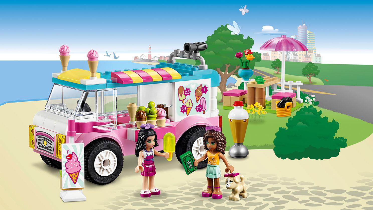 10727 la camionnette de glaces d 39 emma wiki lego fandom powered by wikia. Black Bedroom Furniture Sets. Home Design Ideas