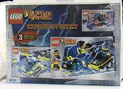 65118 Alpha Team Secret Mission Collector's Pack
