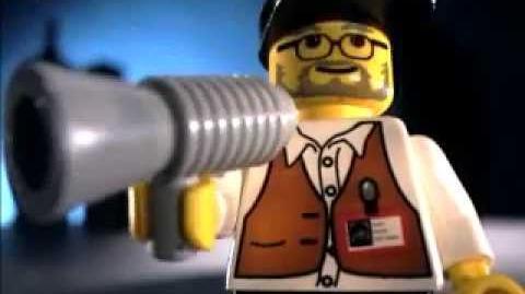 LEGO Studios commercial