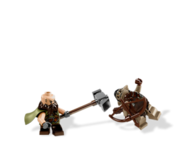 Dwalin and hunter orc