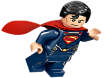 Lego Superman (Man of Steel)
