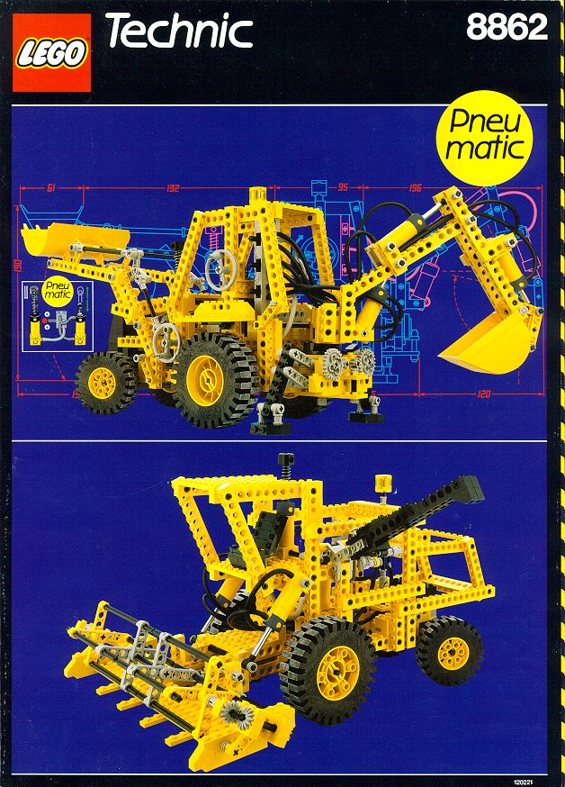 8862 backhoe grader brickipedia fandom powered by wikia. Black Bedroom Furniture Sets. Home Design Ideas