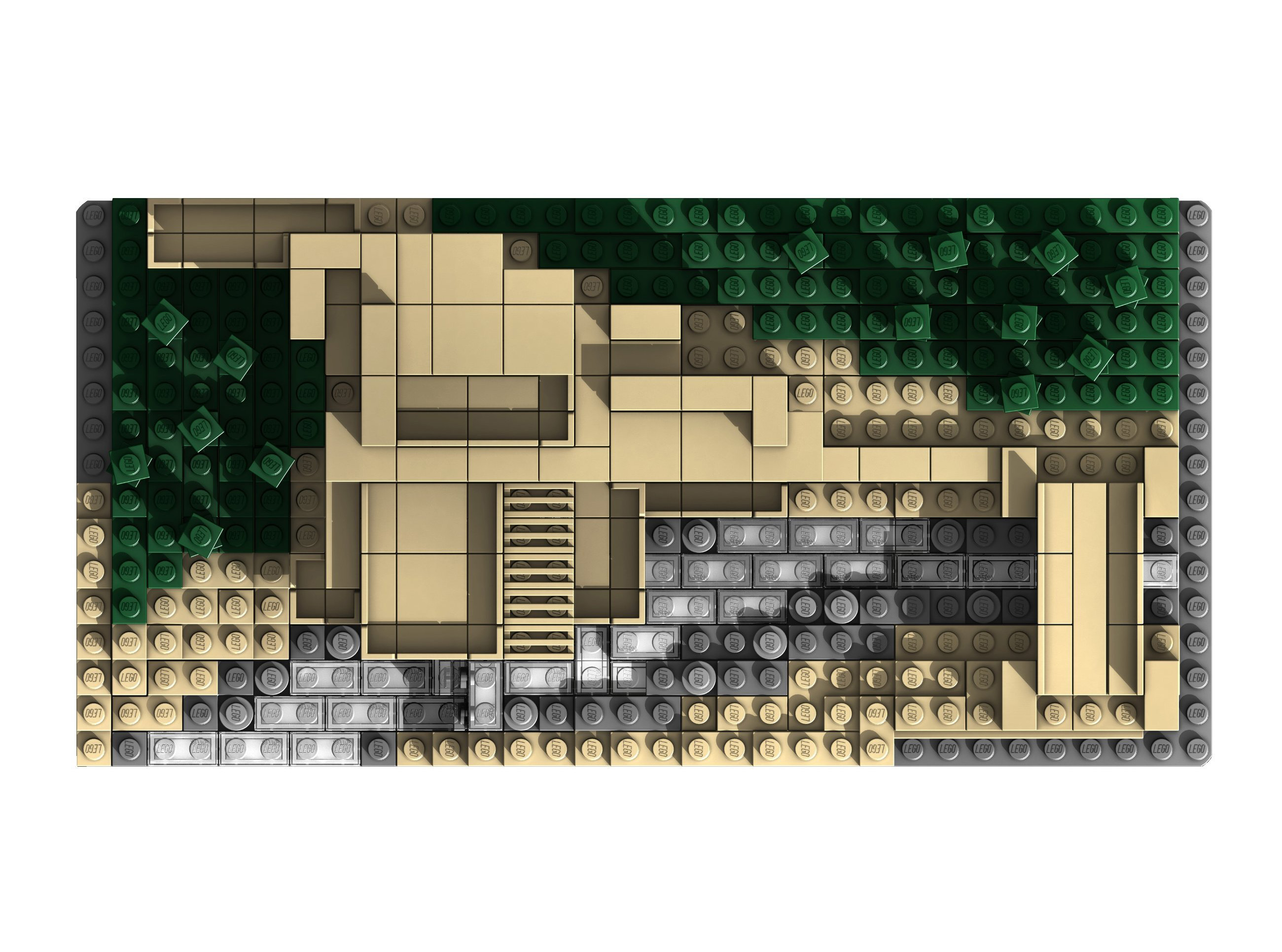 Related keywords suggestions for lego fallingwater house - Falling waters lego ...