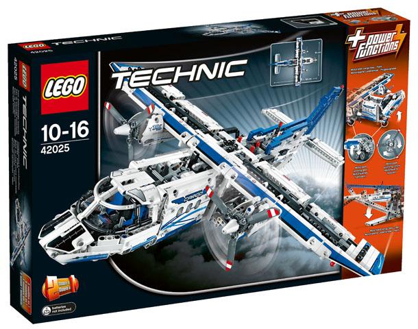 Lego Technic Building Instructions Cargo Plane 42025