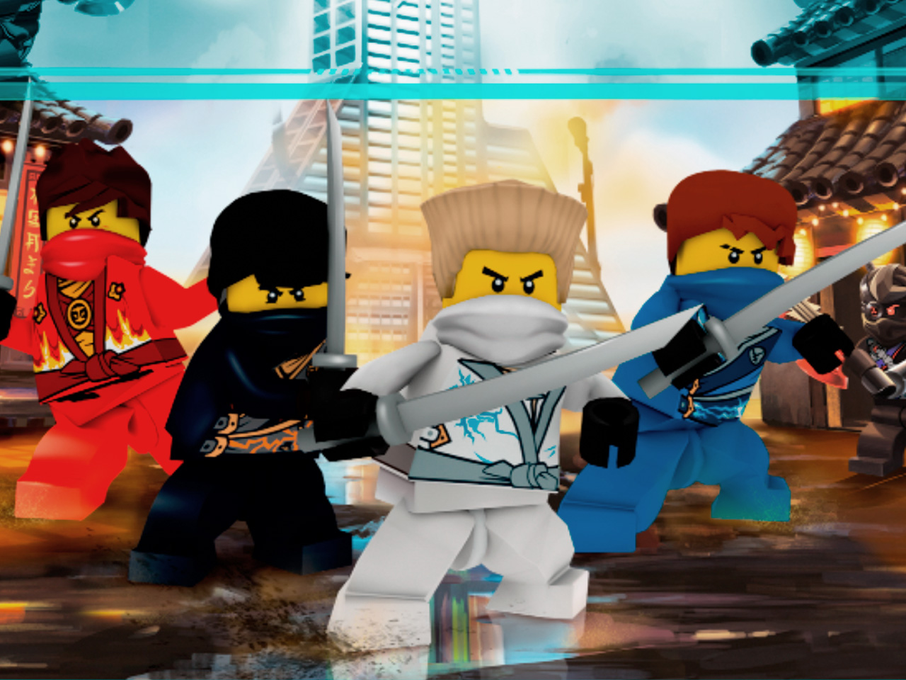 Ninjago rebooted game brickipedia fandom powered by - Lego ninjago 4 ...