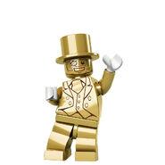 Mr. Gold waving