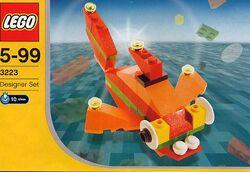 3223 Orange Fish