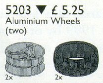 5203 Technic Alloy Wheels