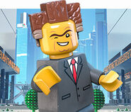President Business Lego