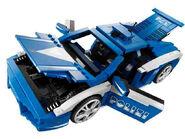 LEGO 8214-1: Lamborghini Polizia