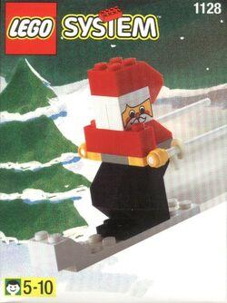 1128 Santa on Skis