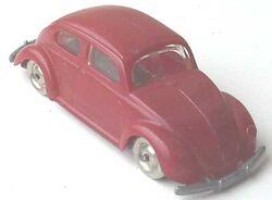 260-VW Beetle Red