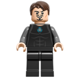 Tony Stark From 76007 Iron Man™; Malibu Mansion Attack