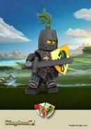 Digital Illustration of a Dragon Knight