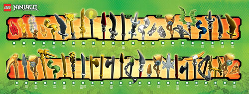 Armes ninjago - Lego ninjago le grand devoreur ...