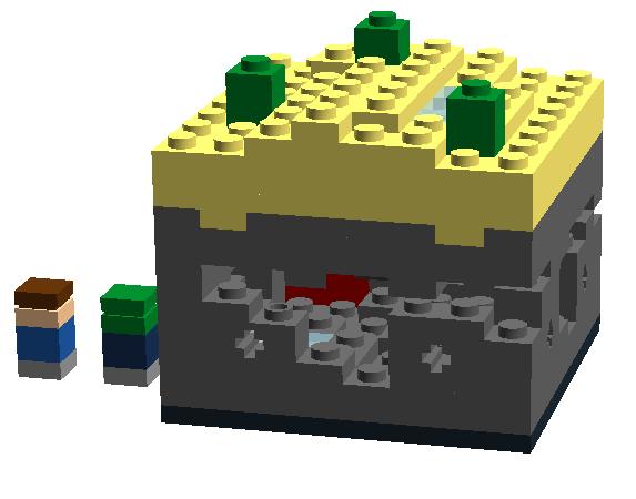 Lego Minecraft Micro World Custom