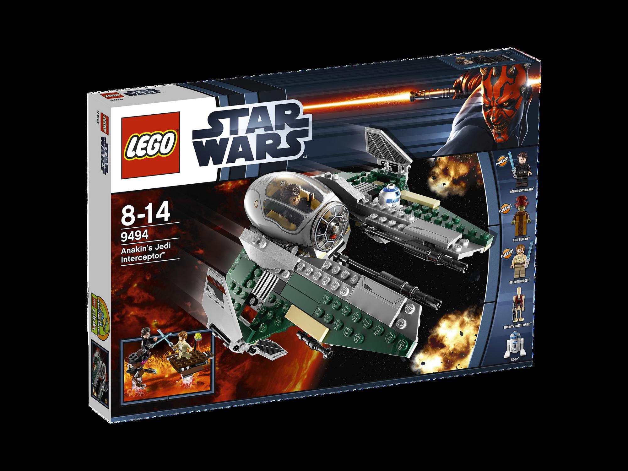 9494 Anakin's Jedi Interceptor | Brickipedia | Fandom ...