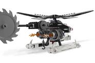 Skeleton helicopter
