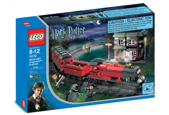 lego dimensions how to build harry potter train in game