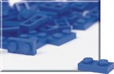 970009-1 x 2 Blue Plates