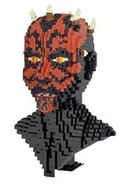 Darth Maul bust front