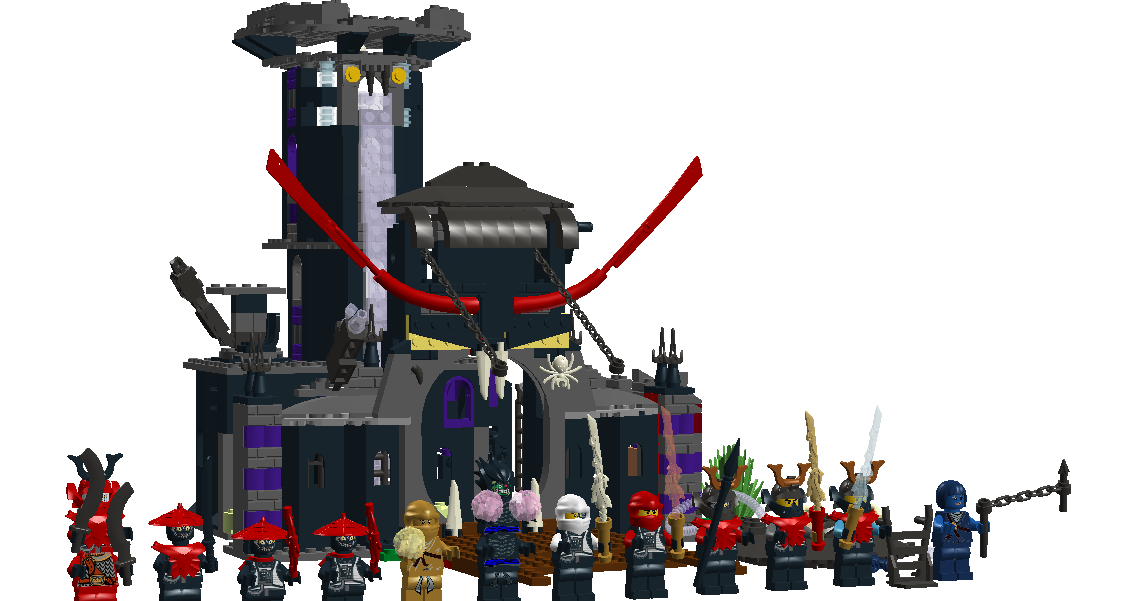 Custom Stone Army Fortress Brickipedia