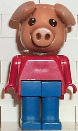 Fabuland Figure Pig 3