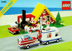 6388 Holiday Home with Campervan