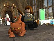 Lego2 Hermione Crookshanks