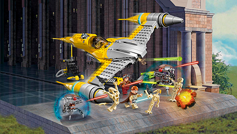 lego naboo starfighter instructions 75092