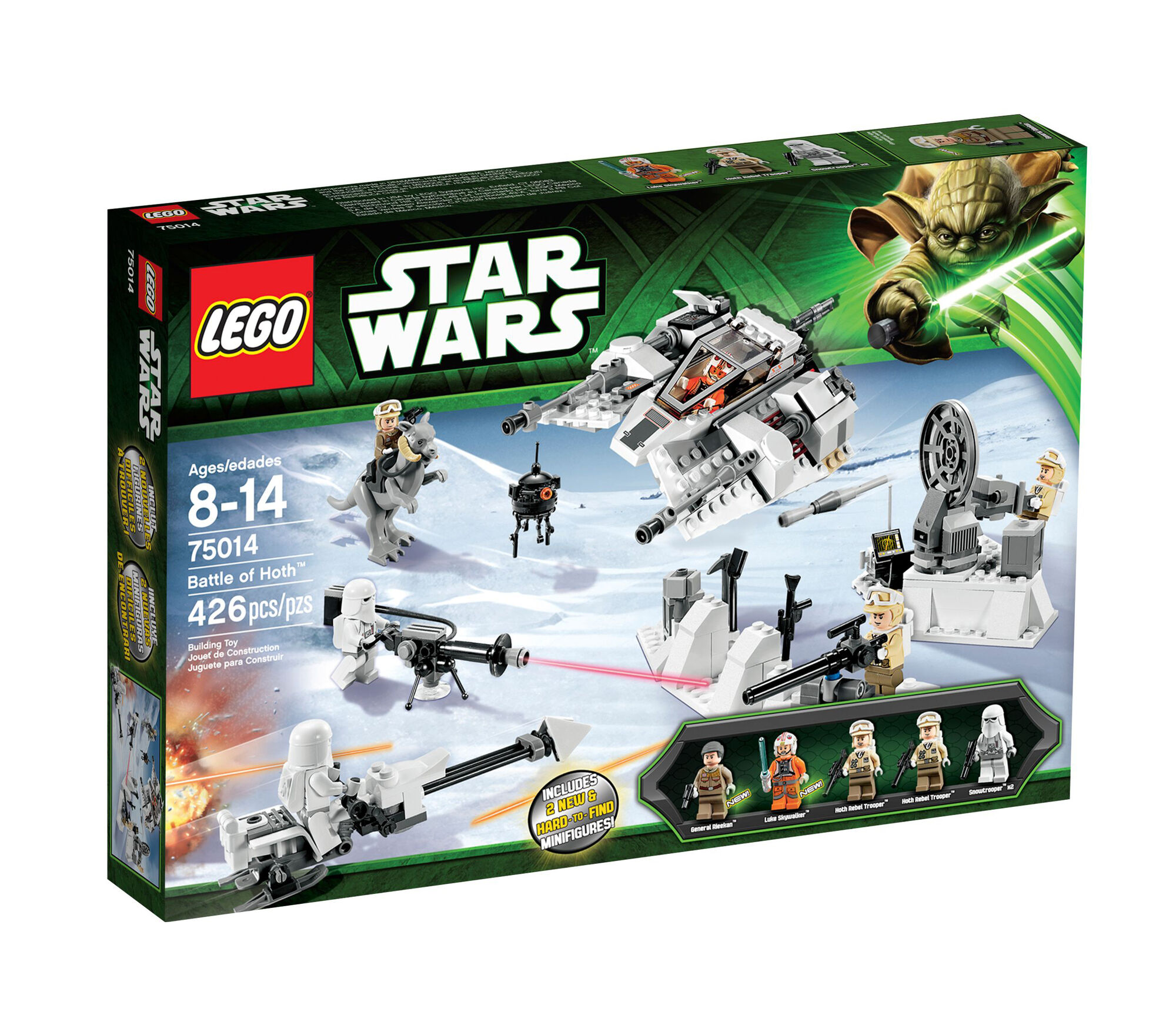 75014 battle of hoth brickipedia fandom powered by wikia - Coloriages lego star wars ...