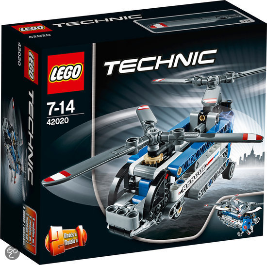 Lego Technic Building Instructions Twin Rotor Helicopter 42020