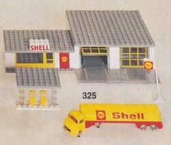 325 SHELL service station
