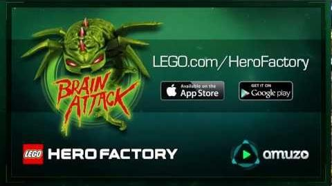 LEGO® Hero Factory -- Brain Attack Game Trailer HD