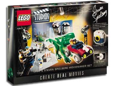 1349 lego studios steven spielberg moviemaker set