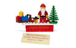 852742 LEGO Holiday Magnet