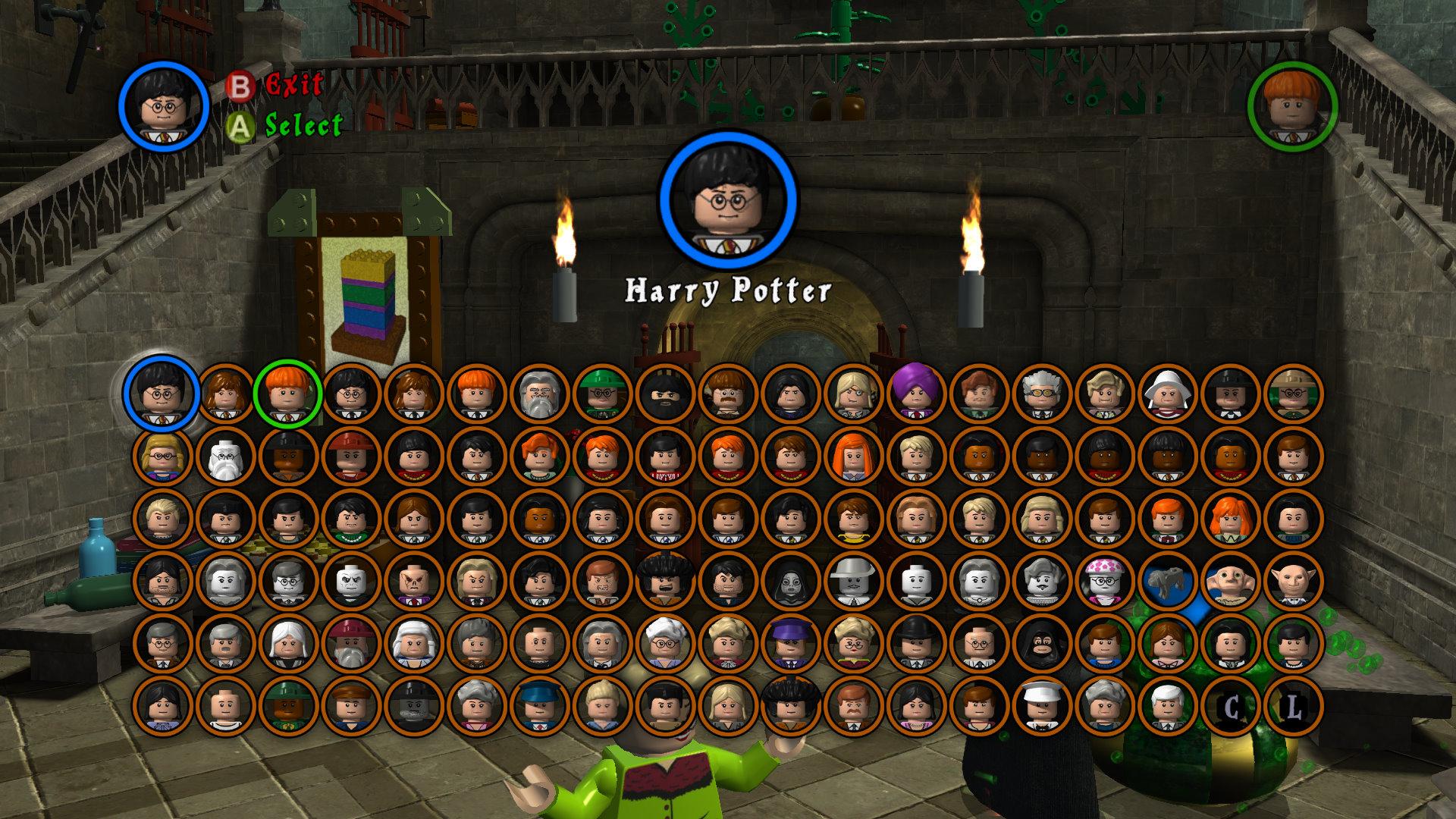 Игра Лего Гарри Поттер играть онлайн - Anolink ru