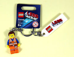 Emmet Key Chain with label