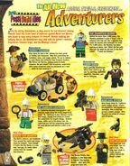 Lego mania magazine jan feb 1998 adventurers bios
