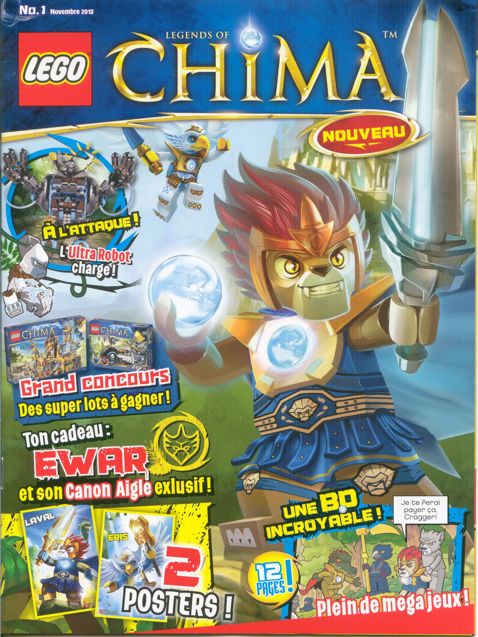 Lego chima magazine wiki lego fandom powered by wikia - Legende de chima saison 2 ...