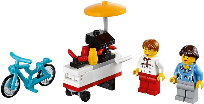 Lego Hot Dog Vendor