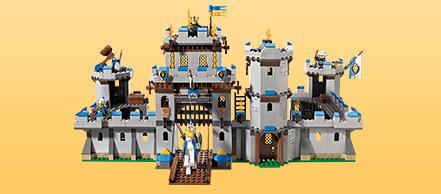 Jouet Lego Castle 70404  Le Château Fort pas cher : Prix à comparer